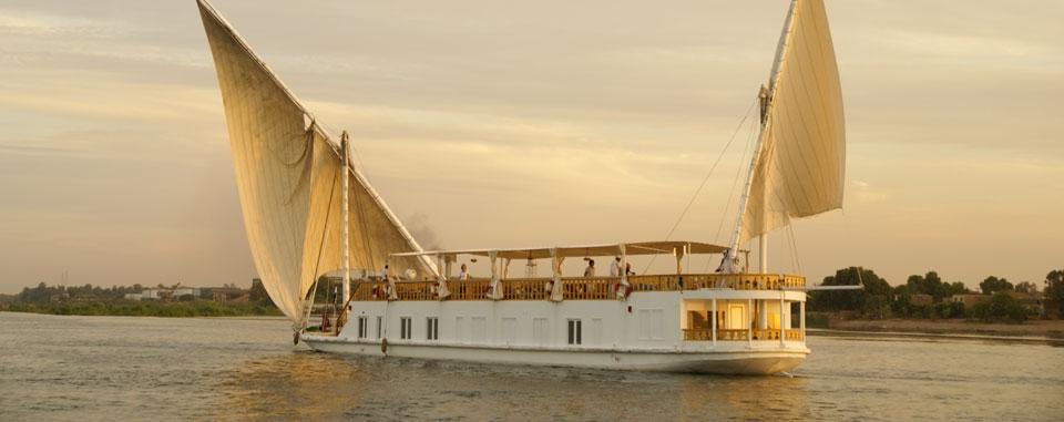 Nile Dahabiya Cruise – At home on the Nile